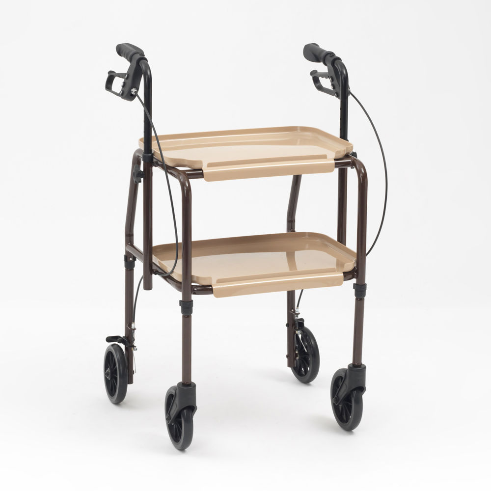 Handy Trolley With Brakes (Adjustable height)