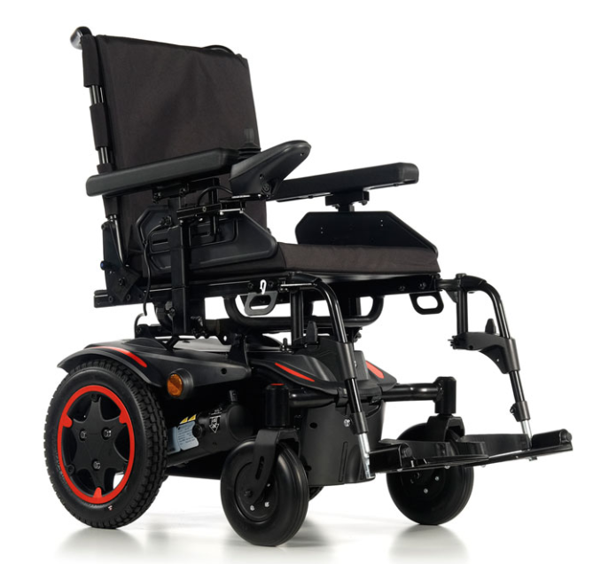 Quickie Salsa Q100 R Rear-Wheel Powered Wheelchair