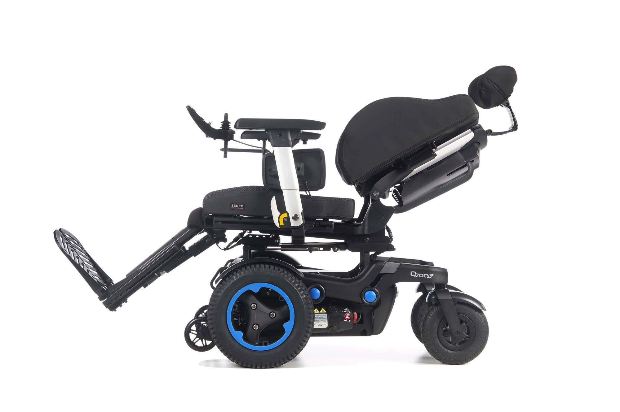 Quickie Q700 F SEDEO PRO Front-Wheel Powered Wheelchair