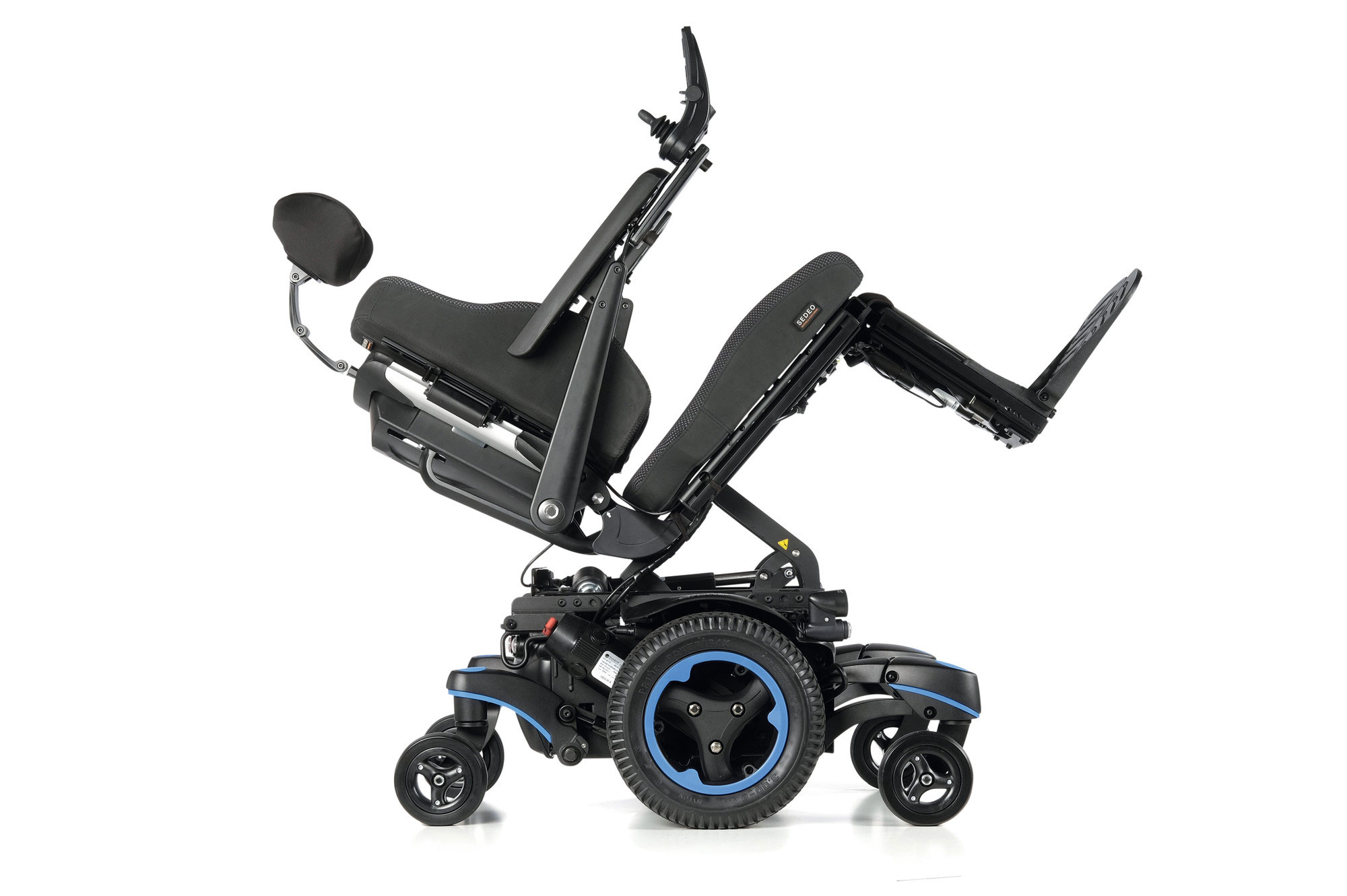Quickie Jive Q700M SEDEO PRO Power Chair Wheelchair Mid-Wheel Sunrise Medical