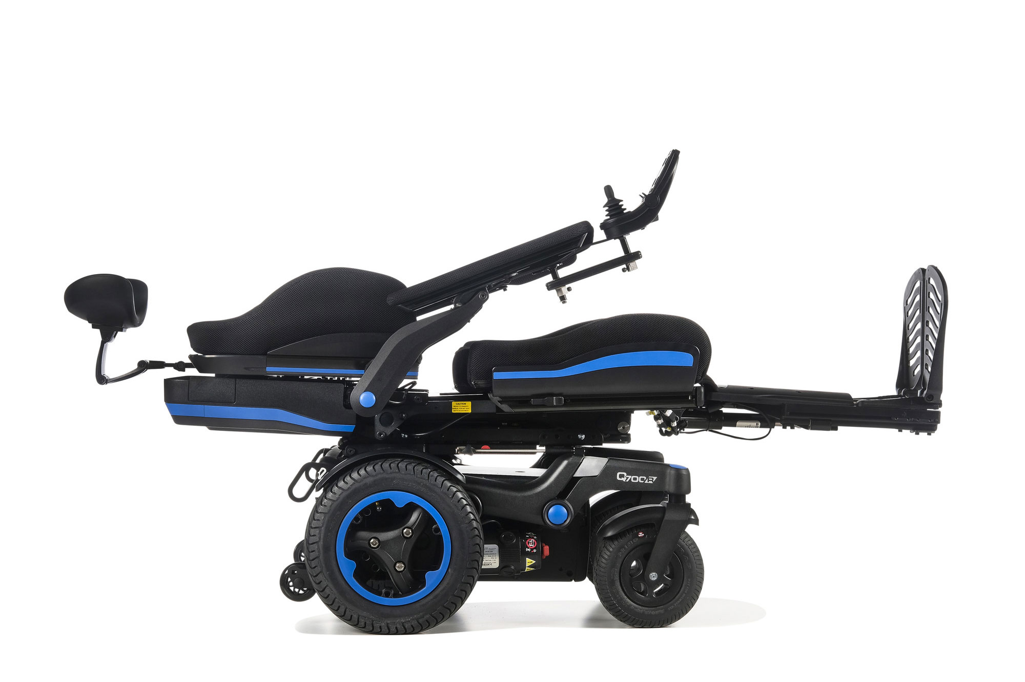 Quickie Q700 R SEDEO ERGO Rear-Wheel Powered Wheelchair