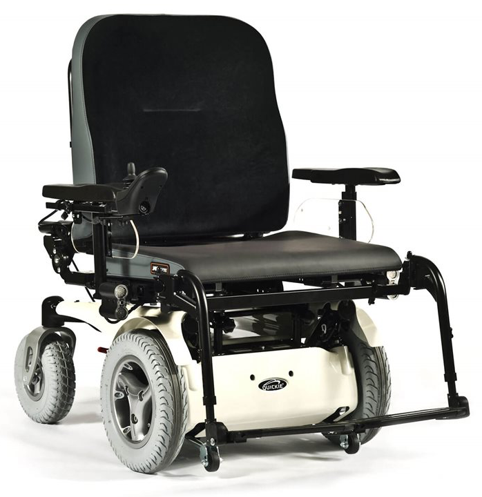 Quickie Jive F XL Powered Wheelchair