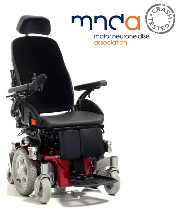 Quickie Salsa MND Neurochair Mid-Wheel Powered Wheelchair