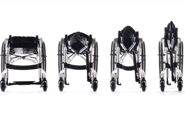 Quickie Xenon 2 Hybrid Folding Wheelchair