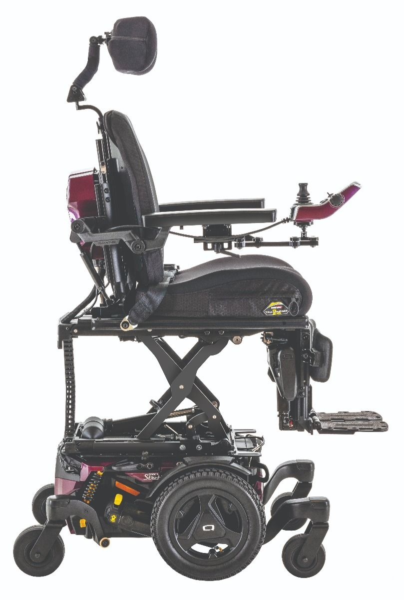 Quantum Edge 3 Stretto Power Chair