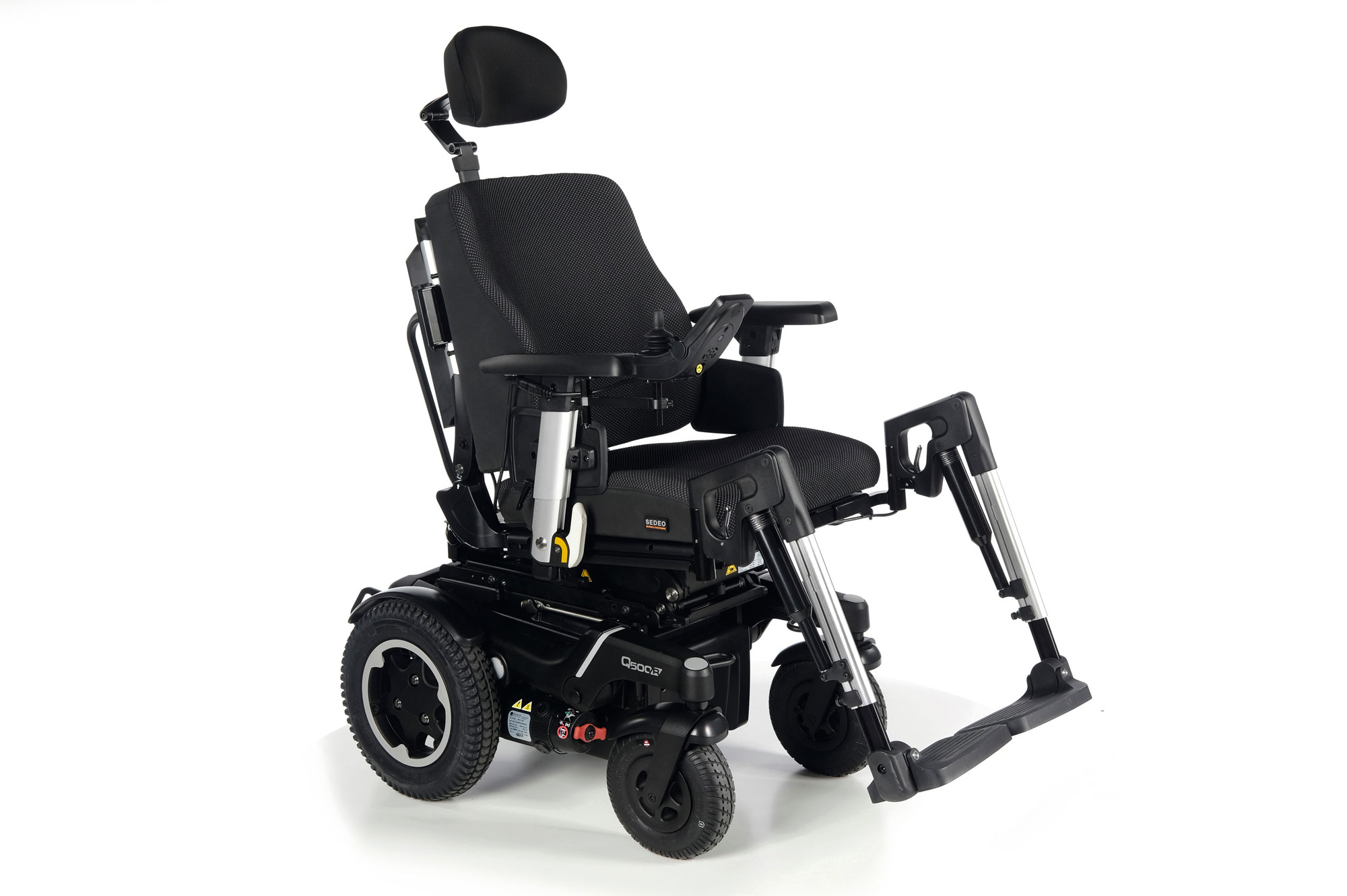 Quickie Q500 R SEDEO PRO Rear-Wheel Powered Wheelchair