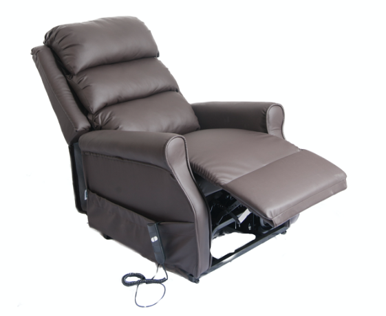 Kingsley Standard Leatherette Rise & Recline Single Motor Chair