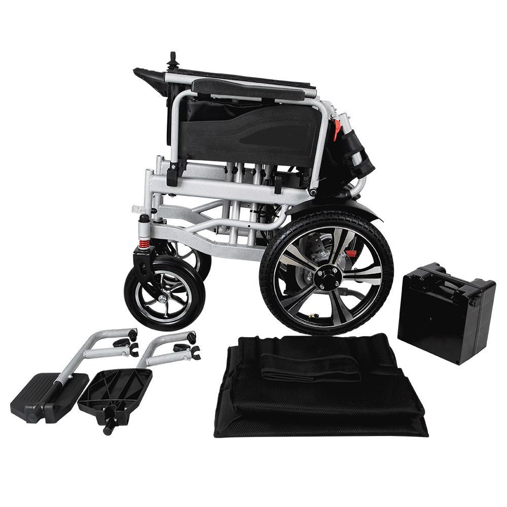 Easy Folding Electric Powered Wheelchair