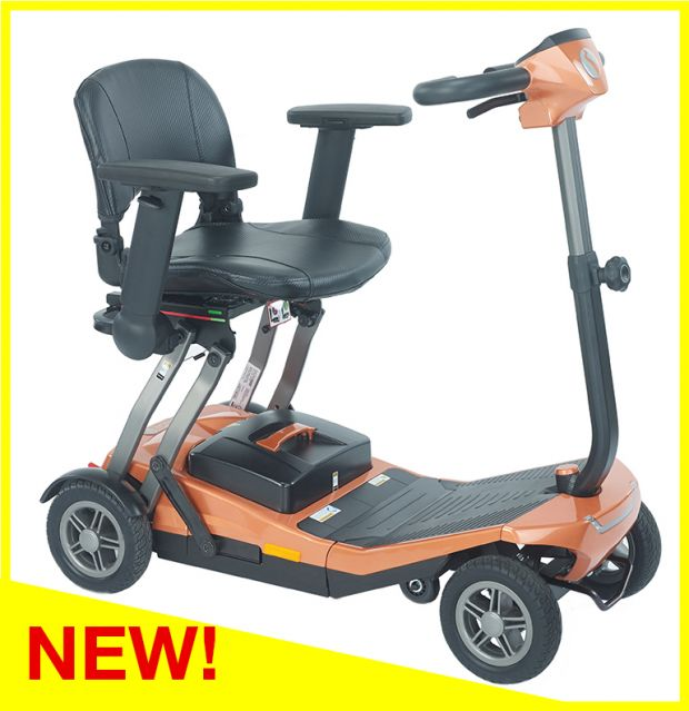 Rascal Smilie Autofold Mobility Scooter Long Range