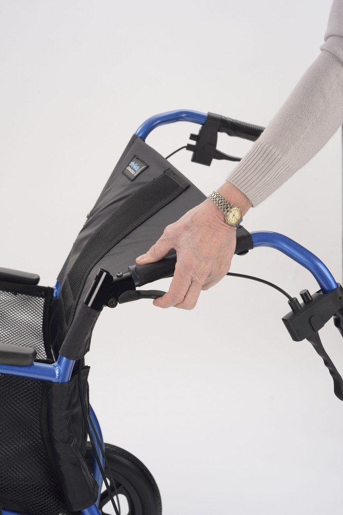 Strongback Wheelchair Attendant Controlled