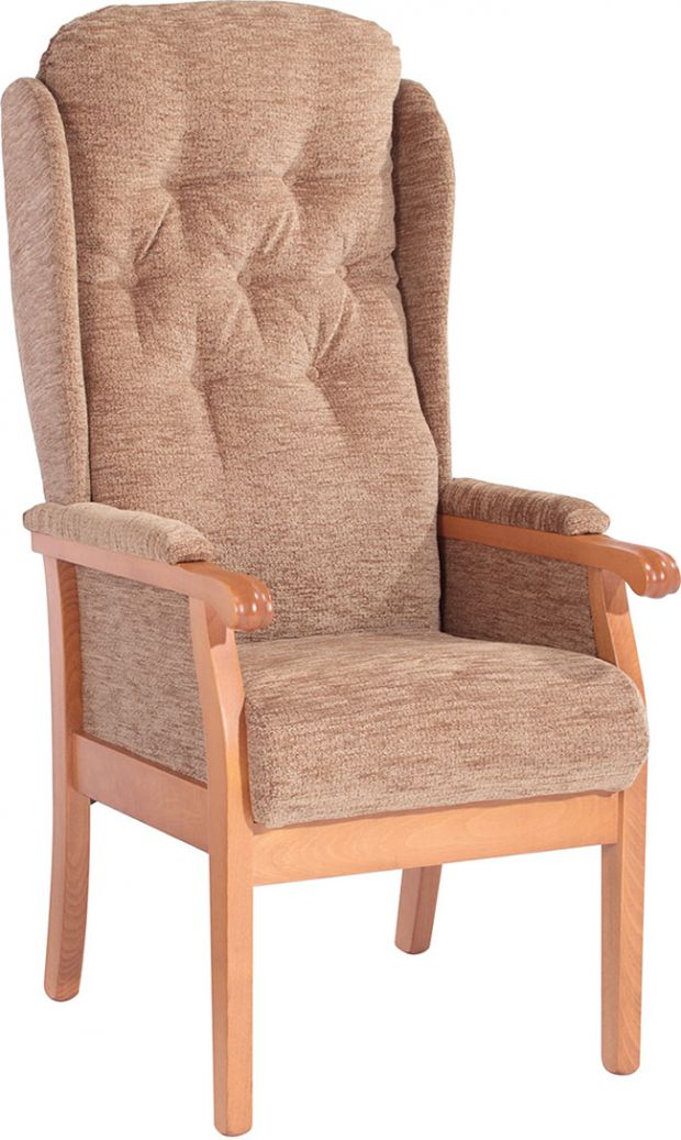 Rivington Fireside Button Back Static Chair (Large)
