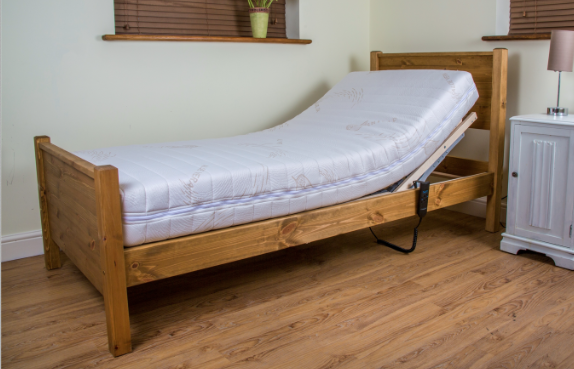 Charlton Wooden Bed Frame With Adjustable Profiling Action