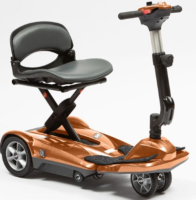 Drive Dual Wheel Auto Folding Mobility Scooter